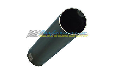 "2"" Angle Cut 12"" Long Polished Chrome Exhaust Tip"