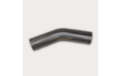 "2.5"" 63MM 30 DEGREE MANDREL BEND MILD STEEL EXHAUST PIPE 21/2 2 1/2"
