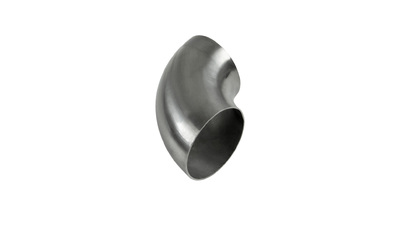 "3"" 76MM 90 DEGREE TIGHT RADIUS MANDREL BEND STAINLESS STEEL EXHAUST PIPE"