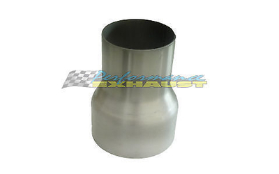 "3"" 76MM - 3.5"" 89MM STAINLESS STEEL EXHAUST PIPE REDUCER"