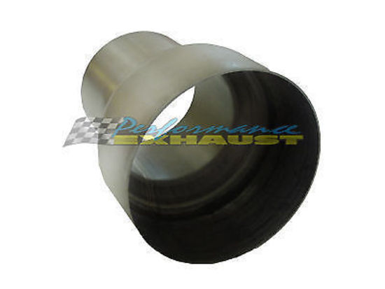 Stainless Steel Exhaust Piping Reducer 3.5 to 4