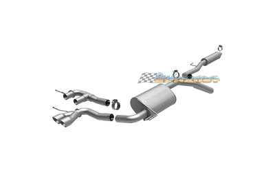 "HYUNDAI VELOSTER L4 1.6LT 2.25"" MAGNAFLOW STAINLESS EXHAUST SYSTEM"