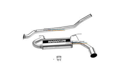 "MAZDA MX5 NB 1.8LT TURBO 2.5"" CATBACK MAGNAFLOW STAINLESS EXHAUST SYSTEM"