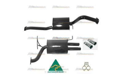"FORD FALCON BA BF SEDAN XR6 2.5"" PACEMAKER STAINLESS CATBACK SPORTS EXHAUST"