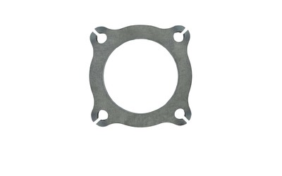 "DIFILIPPO 2.25"" 57MM 4 BOLT EXHAUST FLANGE PLATE MILD STEEL 21/4 2 1/4"