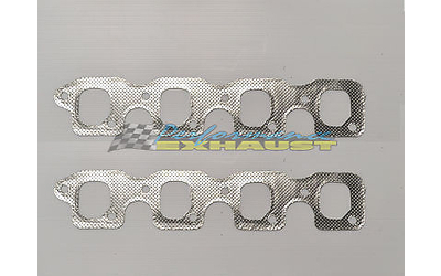 FORD FALCON CLEVELAND V8 4V 302 351 EXHAUST MANIFOLD EXTRACTOR GASKETS