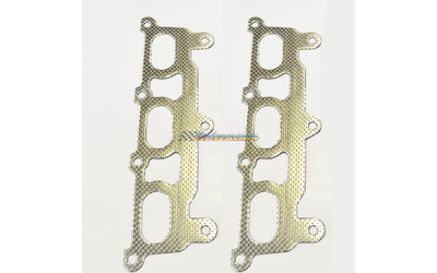 HOLDEN COMMODORE VZ VE V6 ALLOYTEC 3.6LT EXHAUST MANIFOLD EXTRACTOR GASKETS