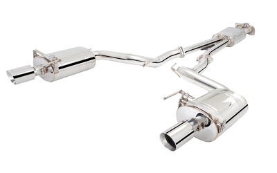 "FORD MUSTANG 2.3LT Eco Boost STAINLESS XFORCE 2.1/2"" CATBACK EXHAUST"