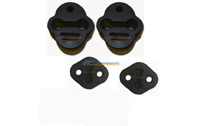 FORD TERRITORY SX SY 6CYL & TURBO EXHAUST HANGER RUBBER MOUNTS KIT