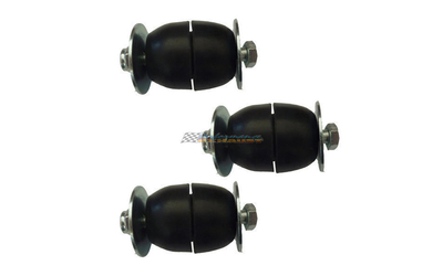 EXHAUST HANGER RUBBER MOUNT KIT 3 SETS NISSAN PATROL GQ CAB CHASSIS / UTE