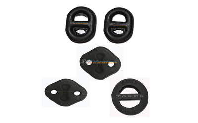 HOLDEN RODEO TF 4CYL PETROL DIESEL EXHAUST HANGER RUBBER MOUNTS KIT