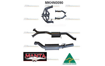 "HOLDEN COMMODORE VT VX VY V6 MANTA EXTRACTORS CATS 3"" CATBACK EXHAUST SYSTEM"