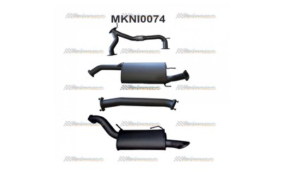 "MANTA EXHAUST 3""CATBACK suits NISSAN PATROL Y62 V8 5.6L"