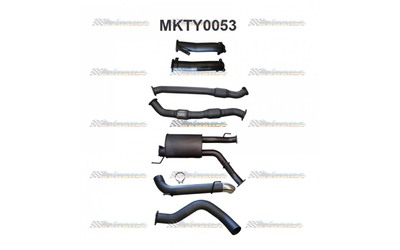 "TOYOTA LANDCRUISER 200 SERIES 4.5LT V8 DUAL 3"" INTO 4"" MANTA EXHAUST"