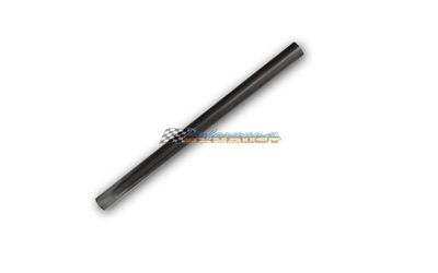 "3.5"" INCH 89MM MILD STEEL STRAIGHT EXHAUST PIPE TUBE x 1 METRE LENGTH 31/2 3 1/2"